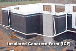 Superpro coatings ltd foundation waterproofing Icf basement cost